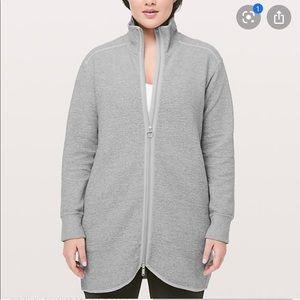 Lululemon Gray Zip Up Jacket